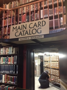 Exploring the Card Catalog
